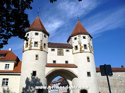 The Nabburger Tor - one of the former town gates of Amberg
