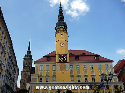 The town hall in Bautzen Germany