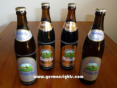 Beer from Kloster Andechs near the Ammersee lake
