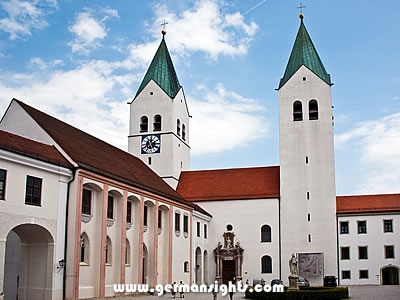 The cathedral in Freising