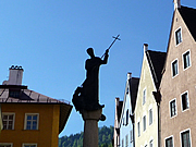 Statue of St Mang in Füssen