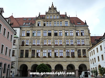 The town hall in Görlitz which stood in for the exterior of The Grand Budapest Hotel