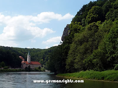 Weltenberg Abbey on the Danube