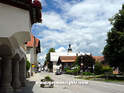 Centre of Lenggries Germany