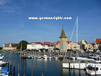 The harbour at Lindau