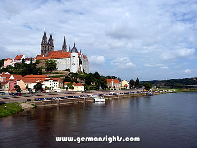 The cathedral and Albrechtsburg in Meissen