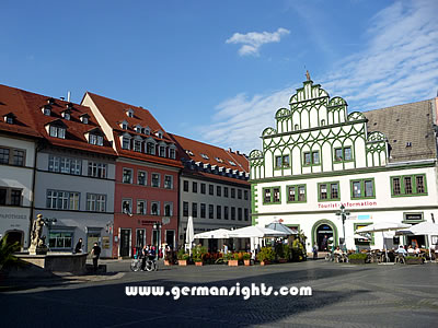 The market square in Weimar